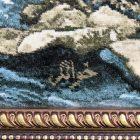 WTMZ-1196 タブリーズ産 ハーナ工房 104×89cm