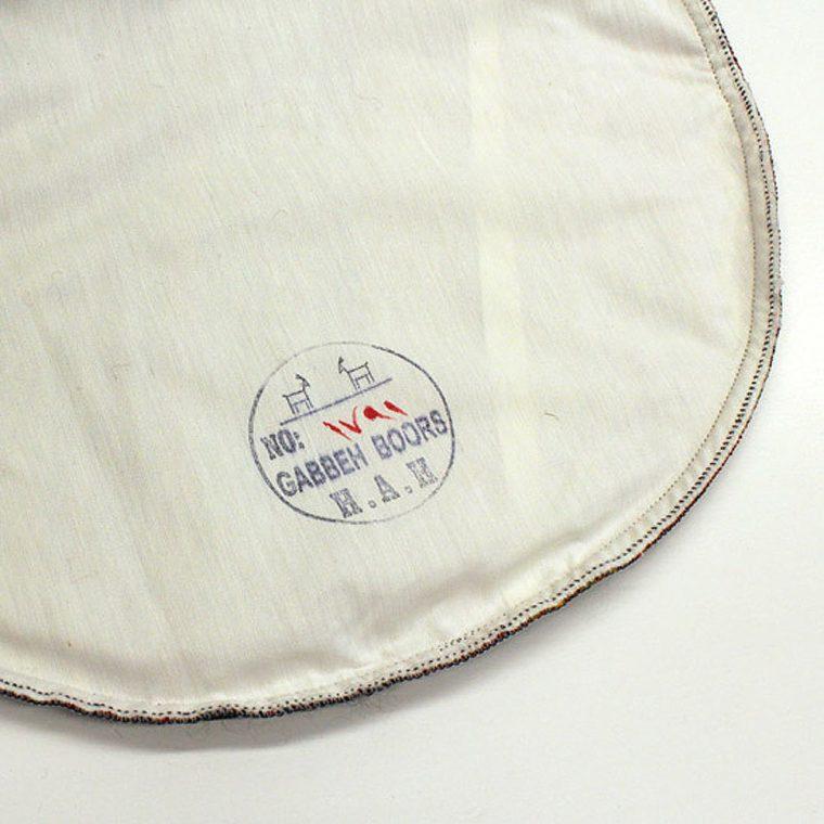 K-920 キリムスツールカバー 円筒 45(L)×45(W)×45(H)cm