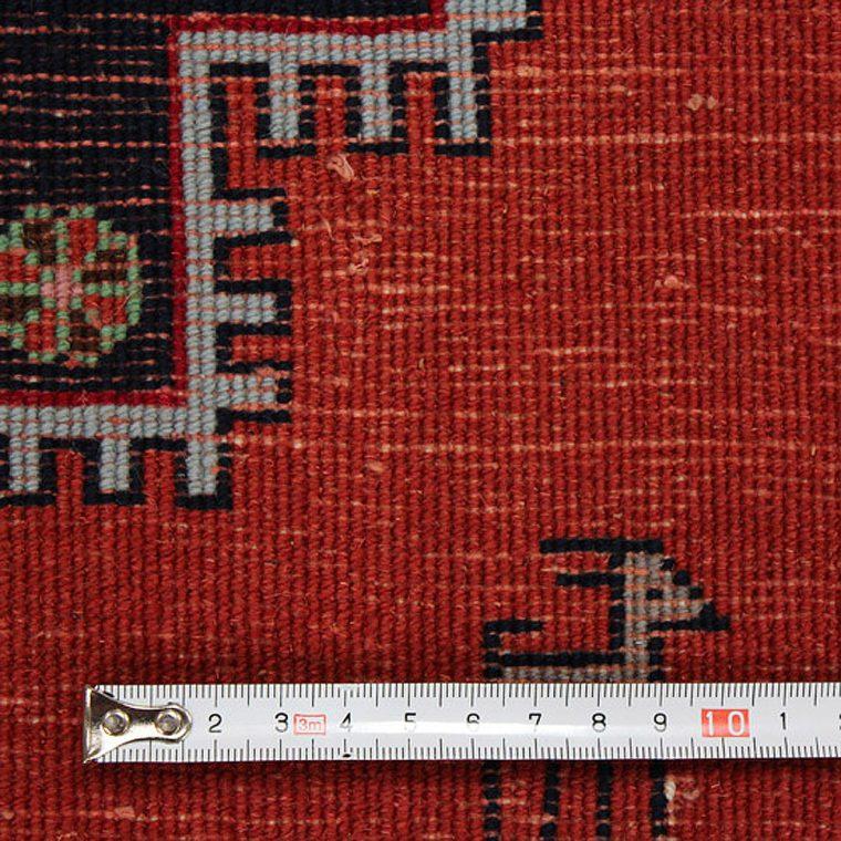 WKMQ-3 ケルマン産ペルシャ絨毯 122×124cm