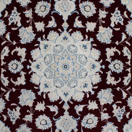 WNCS-47 ナイン産ペルシャ絨毯 148×101cm