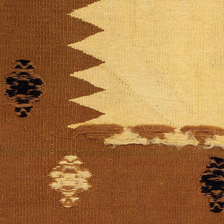 173081 シルジャン産 キリム ソフレ 96×93cm