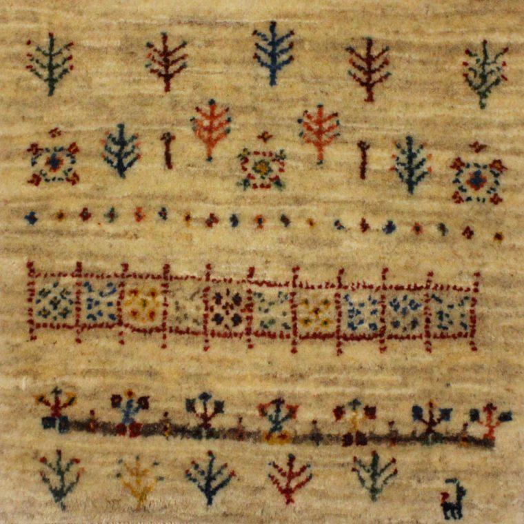 1603-155 ギャッベ(ギャベ) 42×41cm
