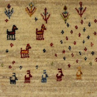 1603-199 ギャッベ(ギャベ) 46×37cm