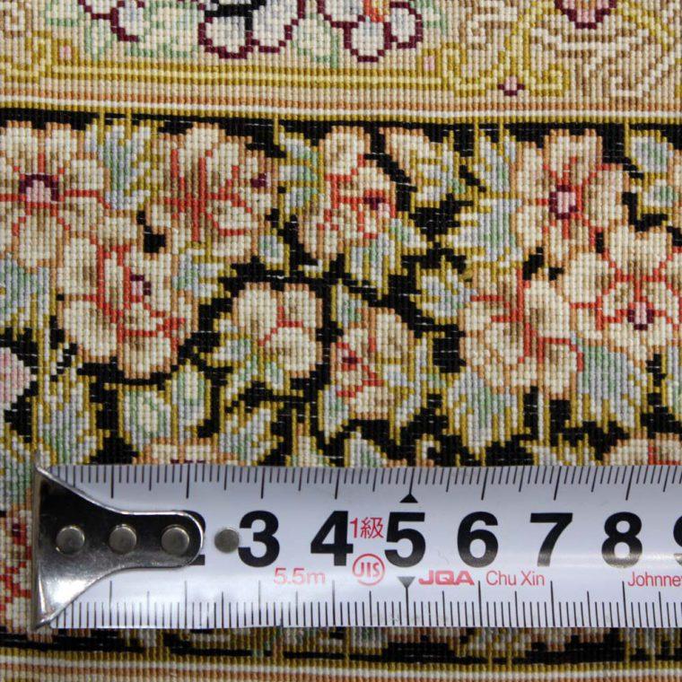 SQBS-565 クム産 モハッレリ工房 121×88cm