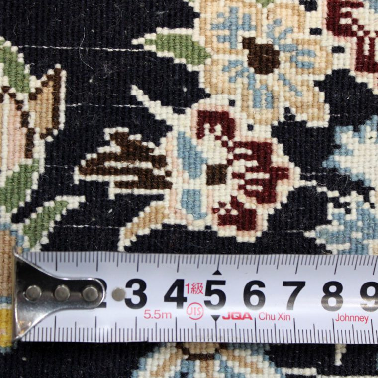WNAS-128 ナイン産ペルシャ絨毯 90×65cm