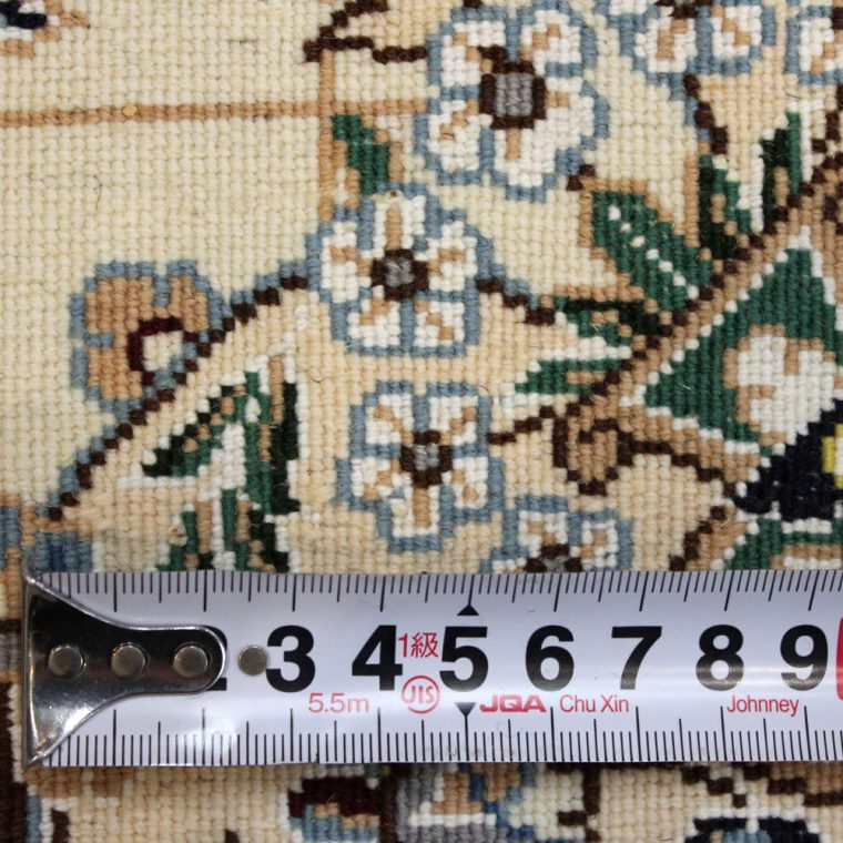 WNAS-123 ナイン産ペルシャ絨毯 90×65cm