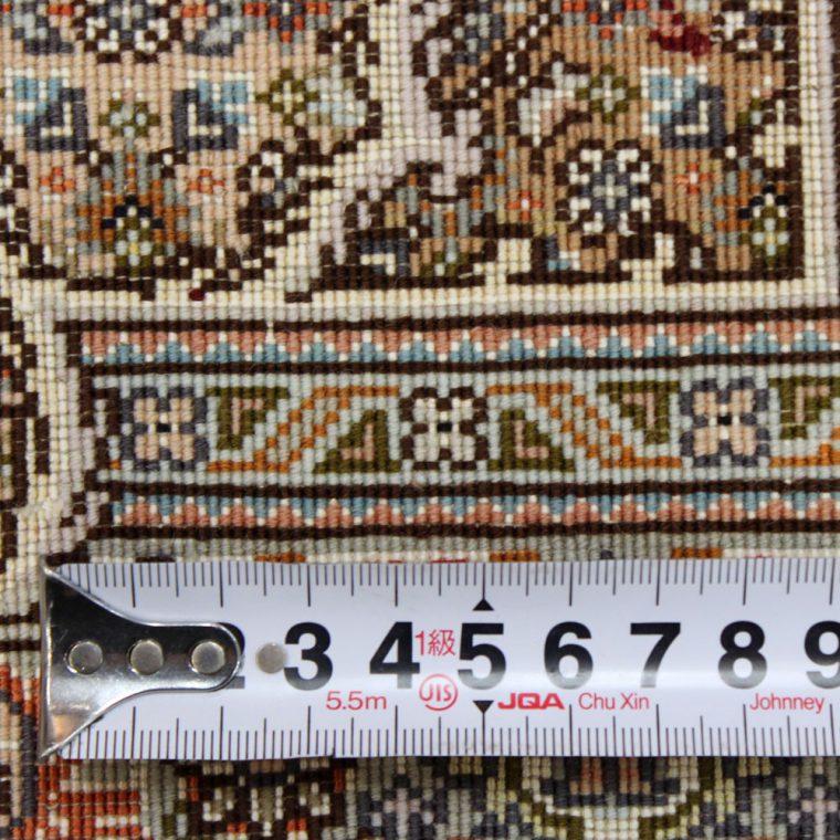 WTAS-38 タブリーズ産ペルシャ絨毯 105×63cm