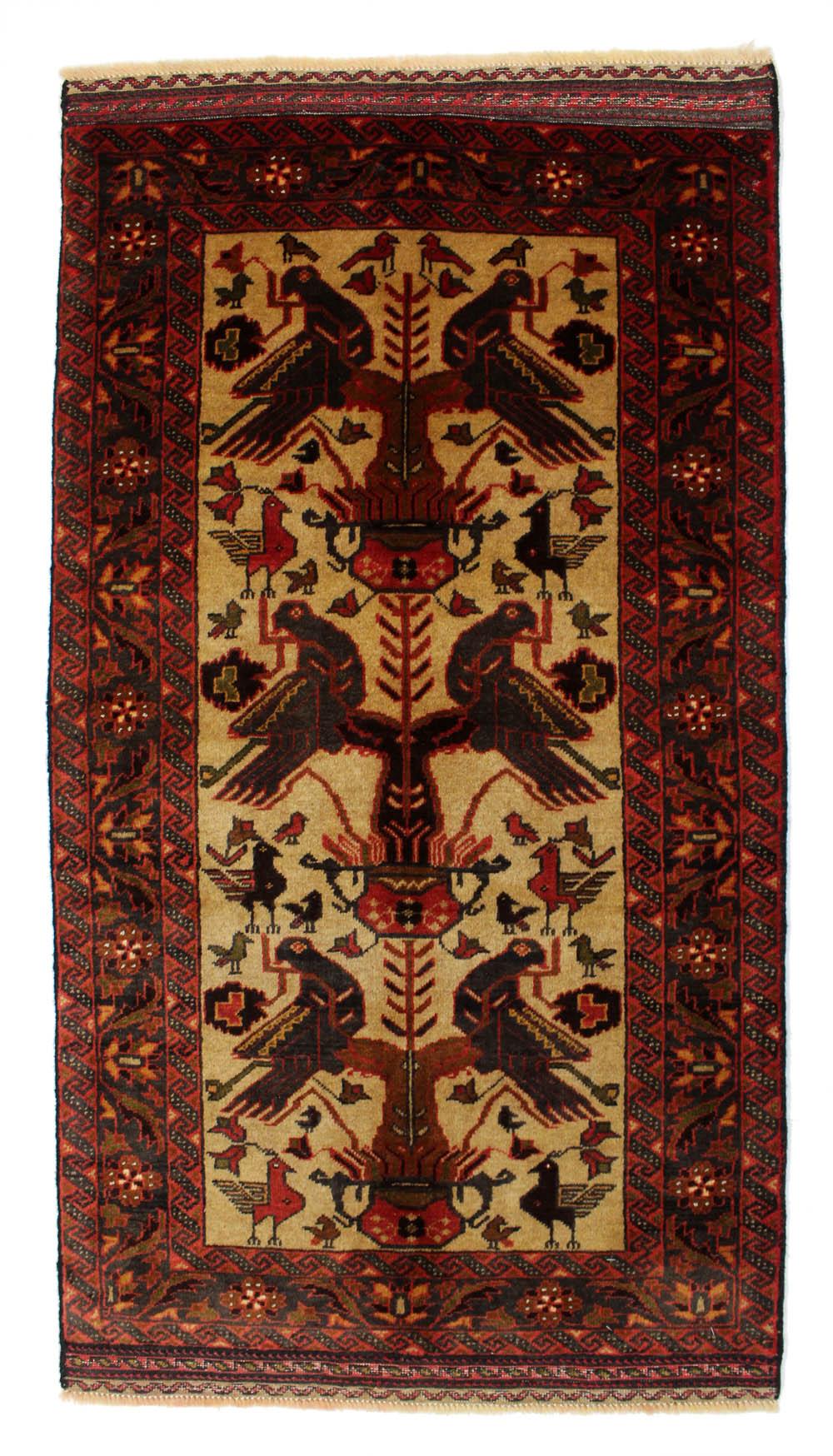 WZCS-24 バルーチ産ペルシャ絨毯 147×80cm