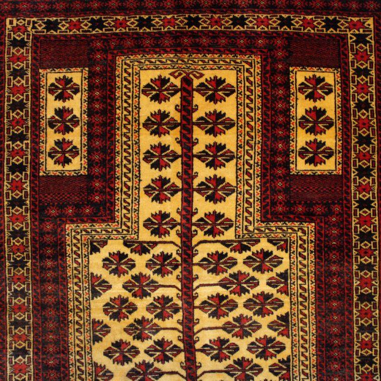 WZCS-18 バルーチ産ペルシャ絨毯 140×100cm