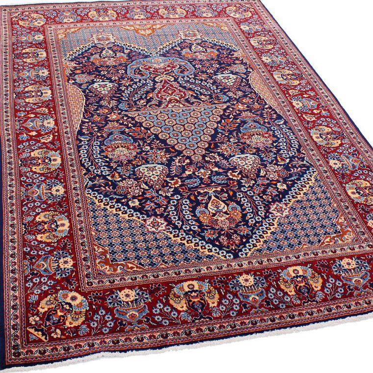 WSDS-7 カシャーン産ペルシャ絨毯 207×142cm