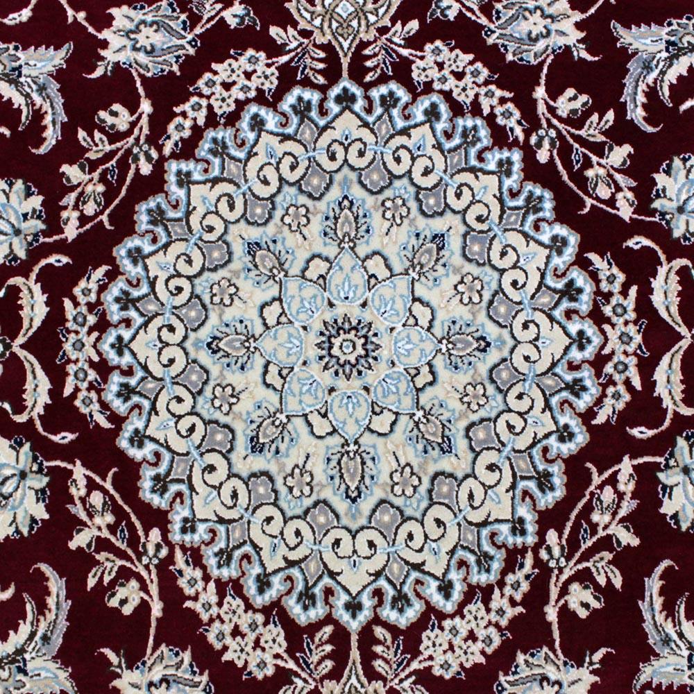 WNES-163 ナイン産ペルシャ絨毯 253×157cm