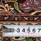 WTDS-30 タブリーズ産ペルシャ絨毯 206×153cm